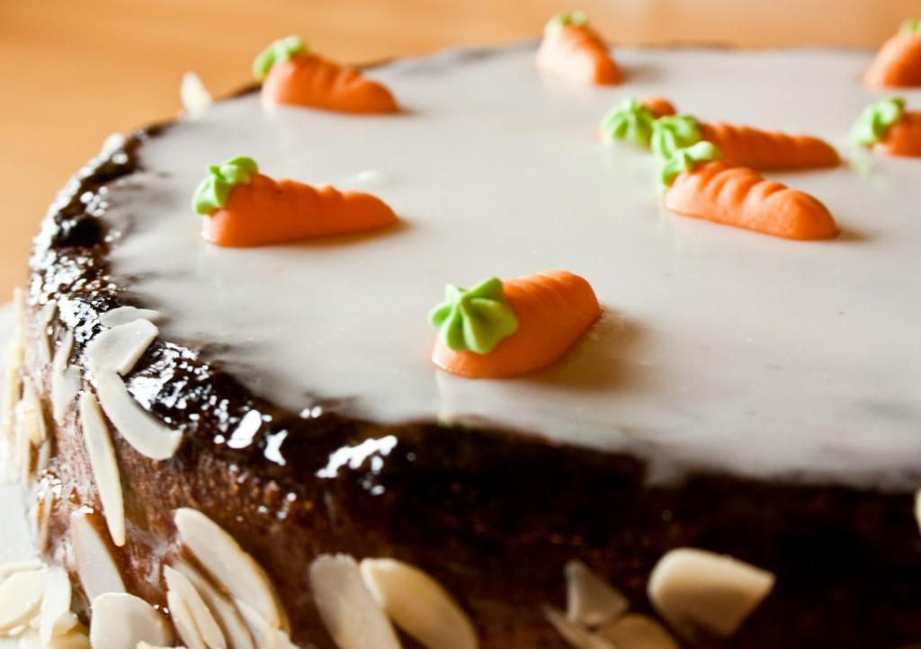 Karotten-Kuchen vegan