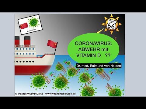 Coronavirus - Abwehr mit Vitamin D ?- Dr. von Helden antwortet!