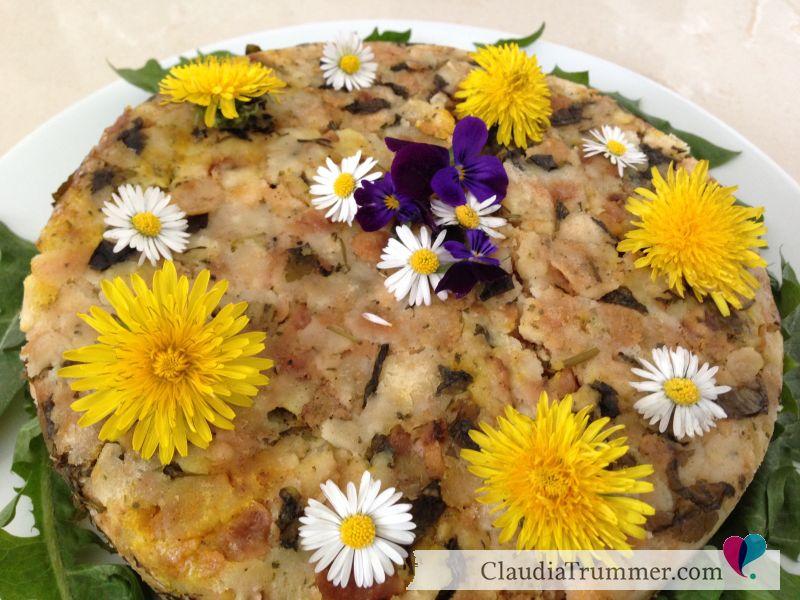 Giersch-Löwenzahn-Semmelknödel-Torte-Wildkräuter-Aromaöle-doterra-ClaudiaTrummer