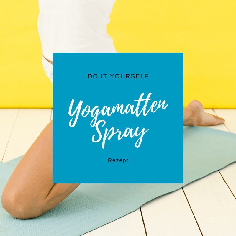 DIY Yogamatten Spray