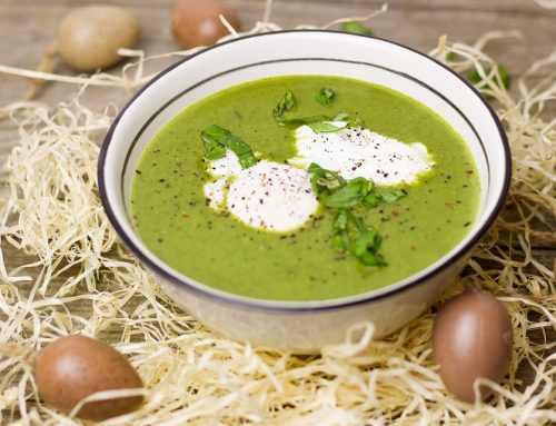 Gründonnerstagssuppe : Neun-Wildkräuter-Suppe