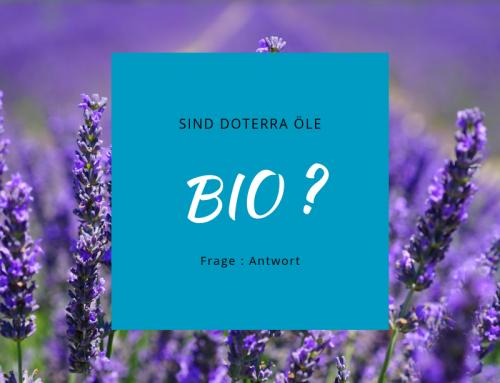 Sind die Öle von doTERRA bio?