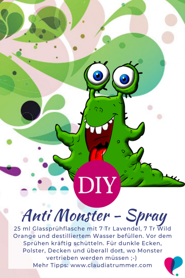 Anti Monster Spray Rezept