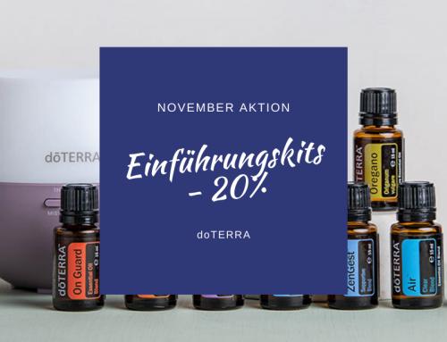 Einführungskits Aktion November 2019