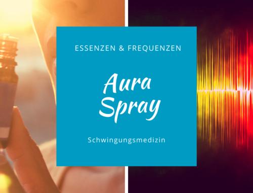 Aura-Spray mit Essenzen und Frequenzen