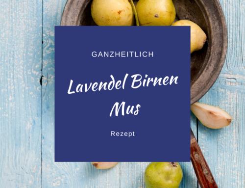 Lavendel-Birnen Mus